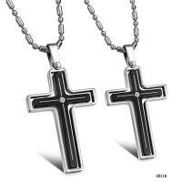 十字架转动吊坠首饰 爆款情侣项链项坠 混批 招商代理GX116