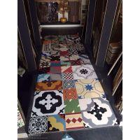 莱立雅厂家直销陶瓷地砖小花砖西班牙抽象