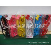 6款韩版糖果色 KIT猫咪镜框 时尚儿童眼镜架 可放镜片