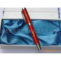 万里文具优质陶瓷笔 红瓷笔正宗中国红笔 万里笔业陶瓷工艺笔