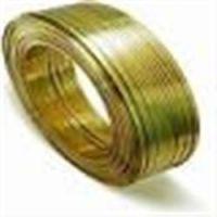 供应特硬黄铜线,H65黄铜扁线,软态黄铜扁线