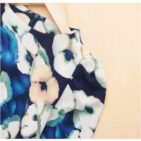 韩版2014新款秋装女装立领印花百搭长袖打底衬衫
