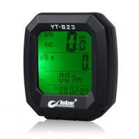 ***博格尔823自行车码表山地车码表带夜光带温度单车配件装备