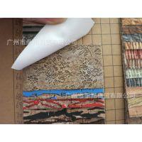 HY738小碎花仿木纹pu革人造革皮革面料手袋箱包皮具皮套箱包 材料