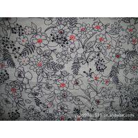厂家直销其他棉类面料 75g重全棉巴厘纱 90*88印花服装面料