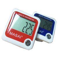 厂家供应超大LCD屏幕计步器 MASAI品牌 超大广告面积定做logo