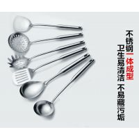 揭阳鼎诚厨具套装铲勺不锈钢全套铲勺子 锅铲 汤勺炒菜铲子厨房烹饪用品