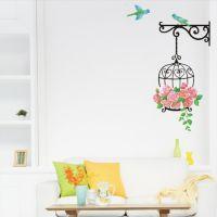 鸟笼创意PVC一件代发厂家直销DIY客厅卧室防水可移第三代AY616