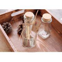 优质高白料木塞玻璃瓶,批发各种现货玻璃瓶