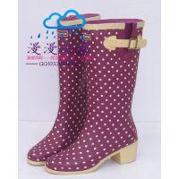 供应韩国时尚雨鞋雨靴女款高跟轻便 101-元