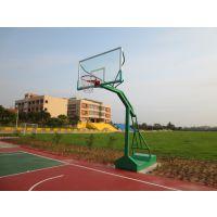 佛山康腾凹箱篮球架 户外移动篮球架 固定式单臂篮球架批发厂家