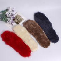 新款秋冬加厚保暖鞋垫女雪地靴 毛绒毛巾布舒适除臭纯手工鞋垫