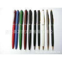 万里文具金属圆珠笔 广告促销笔 酒店用笔 文化用品LOGO 礼品笔