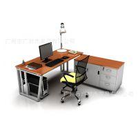 新款促销办公桌特价时尚大班台 经理办公桌 定做钢架办公桌