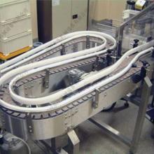 郑州水生机械设备 供应不锈钢链板式输送机—皮带输送机—转弯滚筒线