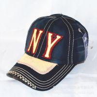 2015春季新款Hard Caps NY字母刺绣贴布男女士棒球帽户外休闲帽子