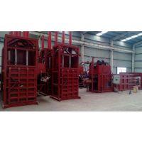 供应HL/华龙HL-60吨立式废纸打包机,手动简单易操作