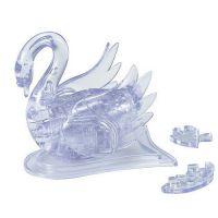 天鹅湖3D立体水晶拼图 天鹅水晶积木 智力玩具 小额批发