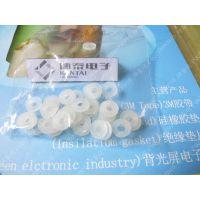 【大量供应】透明硅胶圈 半透明硅胶垫圈 防水密封圈 螺丝垫圈