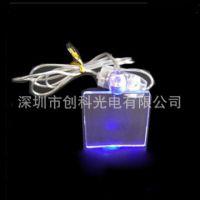 led发光项链 形状款式多种 可定制 可印logo 促销赠品 精美吊坠