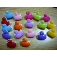2014新款小鸭子形状  双拼扣子  塑料儿童卡通扣