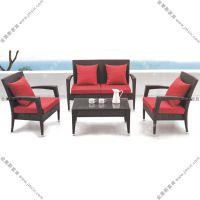 休闲藤编沙发 休闲藤艺沙发 户外休闲pe藤沙发 质量好交货及时