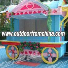 台州商业街售货亭,合肥广场手推车,兰溪欧式风格销售车