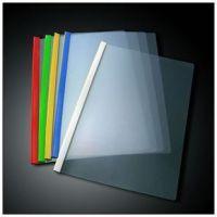 办公用品批发 供应A4塑料文件夹 Q310-18C抽杆夹