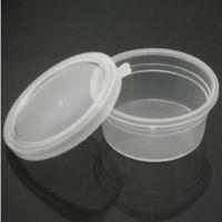 超轻粘 橡皮泥彩泥专用圆盒塑料盒*