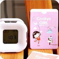 韩国卡通饼干女孩双面防磁公交PVC卡套卡包批发 多种款式