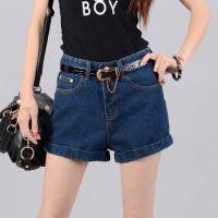 2014新款牛仔短裤宽松休闲显瘦大码女热裤 淘宝分销代买 一件代发