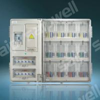 厂家直销单相12位电表箱 配电箱 安全防窃电表箱 透明电表箱V系
