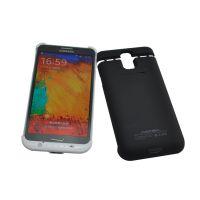 供应手机背夹移动电源三星Galaxy N3 背夹电源背夹电池手机电源黑皮盖