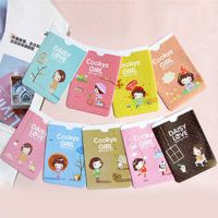 可爱卡通妞子女孩交通卡夹 卡包卡套夹2卡位 巧妙收纳 小礼品 15