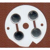 供应JM017密码锁锅仔片贴片开关 metal dome