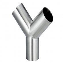 同径三通,等径三通,三通厂家,DN50PN1.6,Y型三通批发价格