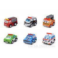 意大利外贸原单Q版回力车 益智卡通回力玩具车 现货供应