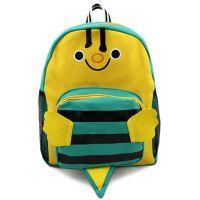 韩版幼儿园书包 儿童帆布书包 卡通蜜蜂书包 休闲书包 厂家直批