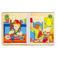 供应木制玩具 彩色木书 趣味木书 智力拼图玩具 儿童益智早教玩具
