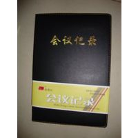 会议记录商务礼品皮面皮质记事本笔记本