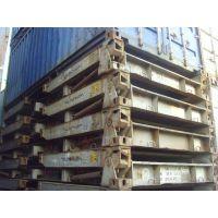 长期二手框架集装箱,可折叠式集装箱低价处理,报废集装箱多少钱