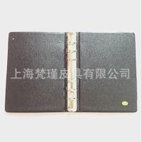 上海厂家 定做生产pu活页文件夹 皮质菜单夹 经理夹 梵瑾皮具厂