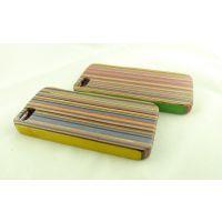批发供应iphone5一体式竹木质手机壳