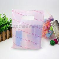 厂家直销可订做印刷PE、PO、HDPE手挽、手提绳购物胶袋
