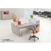 厂家供应五金脚办公家具铝合金框工作位/卡位/员工桌/办公桌