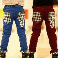 儿童装男童休闲裤2014春秋装新款韩版外贸童装 免费加盟一件代发