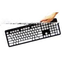 罗技 K310 超薄 有线键盘 可水洗 巧克力键帽 办公室静音键盘