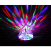 厂家直销led七彩节能灯泡 KTV包房激光球泡灯 led舞台灯