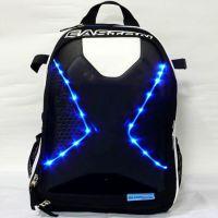工厂推出生产订做闪灯发光包包手机蓝牙来电闪发光背包提包
