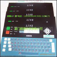 Linx4800喷码机操作按键面板,按键膜,薄膜开关,喷码机薄膜键盘